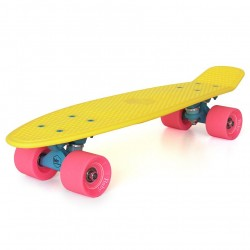 skateboard mini longboard Baby Miller ice Lolly lemon yellow