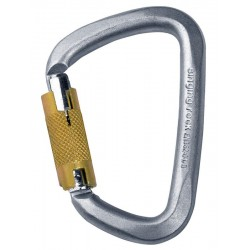 D Karabina Singing Rock ocel triple lock