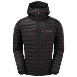 Bunda Montane Featherlite Down jacket black L