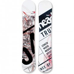 snowboard Head True White 157 cm