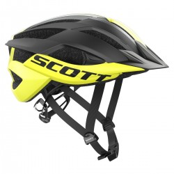 cyklistická helma Scott ARX MTB yellow/black 2019