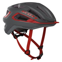 cyklistická helma Scott ARX dark grey/red 2020