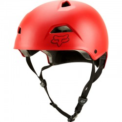helma Fox Flight Sport helmet bright red