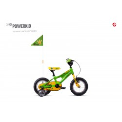 kolo Ghost Powerkid 12 - Green / Yellow/Red 2021