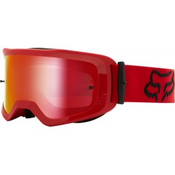brýle Fox MTB Main Stray Goggle Spark OS flame red