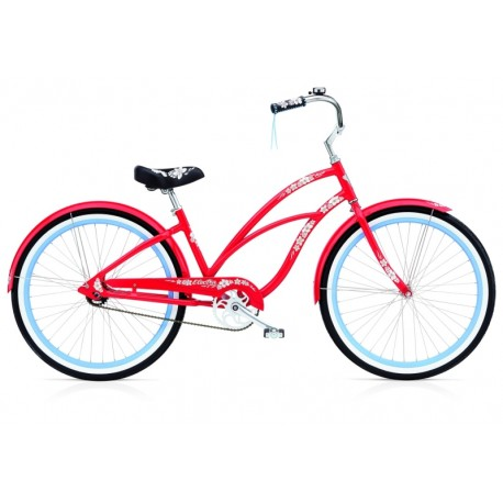 Kolo Cruiser Electra Hawaii 3i red 2015