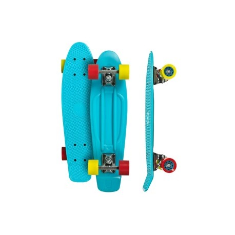 skateboard mini longboard Choke Juicy Susi Shady lady cyan
