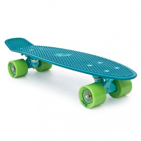 skateboard mini longboard Baby Miller Old is Cool ocean blue