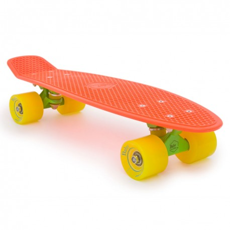 skateboard mini longboard Baby Miller Original fluor orange